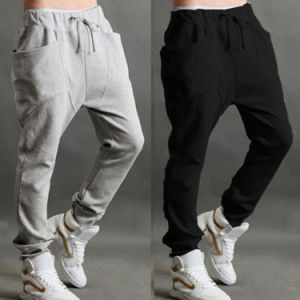 Mens Casual Best Selling Hot Fashion Jogger Dance Sportwear Sweatpants pictures & photos