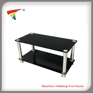 Whole Black Tempered Gl Coffee Table Ct077