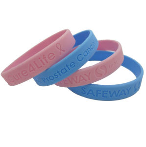 3 Colors Flag Silicone Wristband (SIB011) pictures & photos