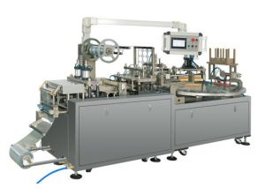 Full-Automatic Professional Battery Blister and Paper Packing Machine