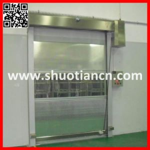 Fabric Industrial PVC Rapid Doors (ST-01) pictures & photos