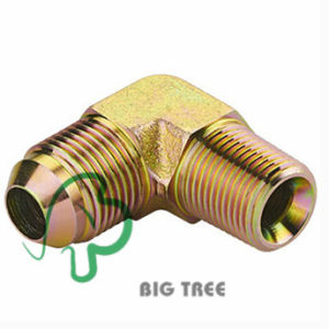 90 Degree Elbow BSPT Male Hydraulic Adapter Fitting pictures & photos