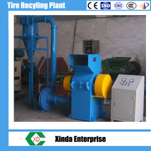 Scrap Radil Tyres Recycling Rubber Powder Grinder Automatic Tire Recycling Machine pictures & photos