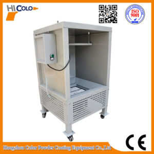Labor Powder Painting Booth for Powder Testing pictures & photos