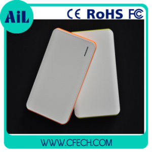 New 8000mAh White Mobile Power Bank /Backup Battery Made in China High Quality and Competitive Price (P936)
