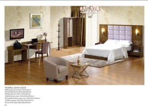 Wooden Finished Hotel Bedroom Furniture (XHM-1415)