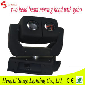 Newest Double Moving Head Beam Light with Spot for Stage