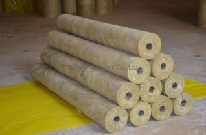 "Mineral Wool Pipe Insulation 1"" 1psx1-1/2"" Thick X3feet (54 Linear Feet Per Carton)"