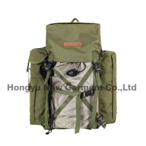 Polyester Fabric Camouflage Backpack with PVC Coating (HY-B098) pictures & photos