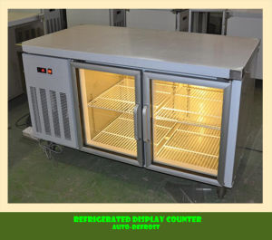 Stainless Steel Refrigerated Display Counter pictures & photos