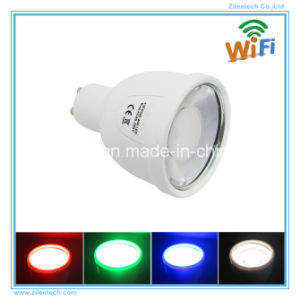 LED GU10 RGBW Dimmable WiFi Smart Commercial RGBW Spotlight