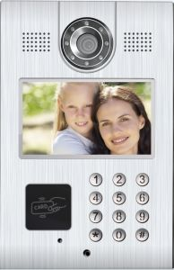 New Design TCP/IP Video Door Phone for Apartments Entry Intetcom System - Call Lift pictures & photos