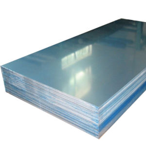 Factory Price Mill Finished 1100 Aluminum Sheet with PVC Coated pictures & photos