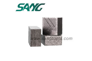 Stone Diamond Sandwich Segments Well Cutting pictures & photos