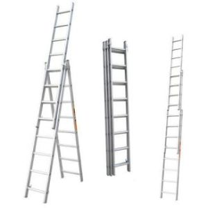 Hot Sale Self-Supporting Aluminum Top Domestic Hard Ladder pictures & photos