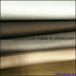 Decoration Semi-PU Leather Upholstery for Wall Cover pictures & photos