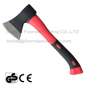 Drop Forged Axe with Fiberglass Handle (HAX-002)