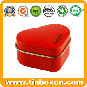 Heart Chocolate Tin Box for Food Metal Can Packaging pictures & photos