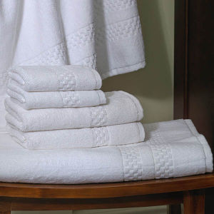 5star Hotel Cotton Terry White Bath Towel Sheet Sets pictures & photos