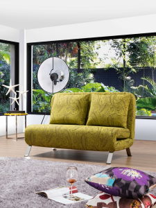 3 Folded Solid Love Seat Sofa in Simple Style pictures & photos