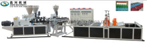 PVC Roof Sheet Production Line/PVC Roof Tile Extrusion Machine