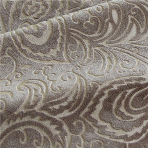 Embossed Velvet Fabric For Sofa Chair Cushion Cover Home Textile