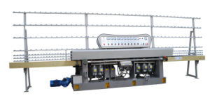 9 Motors 45 Glass Straight Line Edging Machine