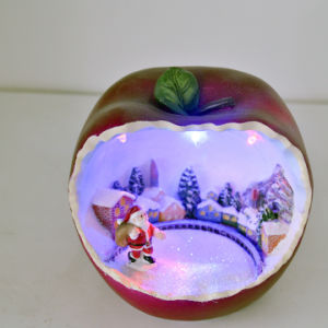 Christmas Gifts Color Resin Apple Crafts pictures & photos