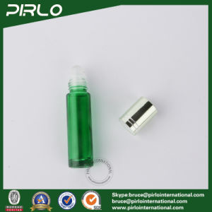 10ml Green Glass Essential Oil Roll on Bottle pictures & photos