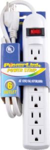 USA Style 6 Outlets Surge Protector Power Strip -90j pictures & photos