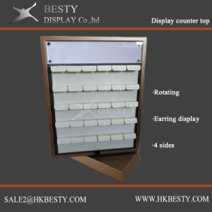 Functional Jewelry Displays Rotating Counter Top Showcase