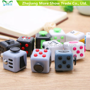 Magic Fidget Fun Cubes Anti-anxiety Adults Stress Relief Kids Gift Red+Grey