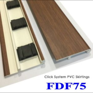 Flooring Accessories of PVC Skirting for Wood Floorings pictures & photos