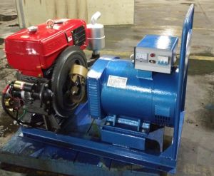 Single Cylinder Diesel Power Generator Sets pictures & photos