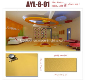 Fashion Design 2mm Thickness PVC Vinyl Laminate Flooring pictures & photos