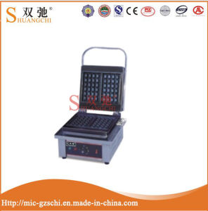Commercial Factory Supply New Design Electric Square Waffle Making Machine pictures & photos