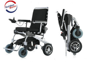 Golden Motor Electric Wheelchair with Reclines 5 Positions, Long Range pictures & photos