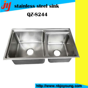 Double Design Stainless Steel Sink