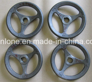 China OEM Sand Casting Metal Hand Wheel with Spray Coating pictures & photos
