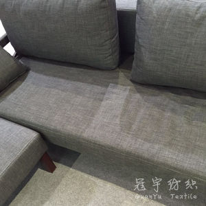 Upholstery Polyester Linen Fabric for Home Textile Sofa pictures & photos