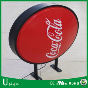 Hot Sale Round Shape Advertising LED Acrylic Light Box (custom made are available)