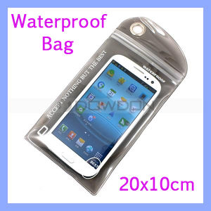 PVC Waterproof Mobile Phone Bag Pouch for iPhone Samsung Sony pictures & photos