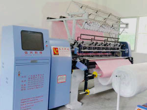Industrial Multi-Needle Quilting Machine, Computerized Lock Stitch Quilting Machine, Quilting Machine for Garment Yxs-64-2b/3b pictures & photos