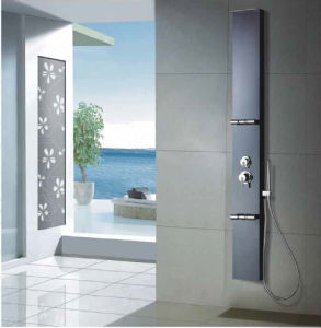 Shower Panel with Fixed Handset (GKF-3028)
