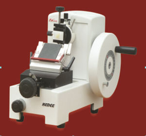 Manual Rotary Microtome with High-Precision Roller Guide Rails pictures & photos