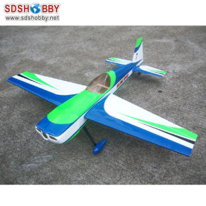 Wm 55in Slick540 50e Balsa Electric Airplane Kit Blue & Green & Whitewm 55in Slick540 50e Balsa Electric Airplane Kit Blue & Green & White