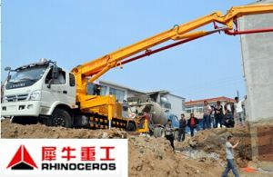 Xiniu Concrete Pumps with Foton Truck Good Quality pictures & photos