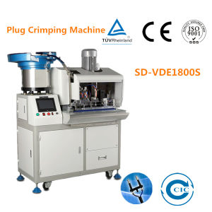 Automatic Electric Cable Plug Crimping Machine