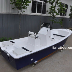 Liya 5.8m 8 Persons Fiberglass Panga Fishing Boat Factory pictures & photos