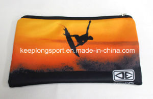 Full Colors Printing Neoprene Pencil Case, Neoprene Pencil Bag